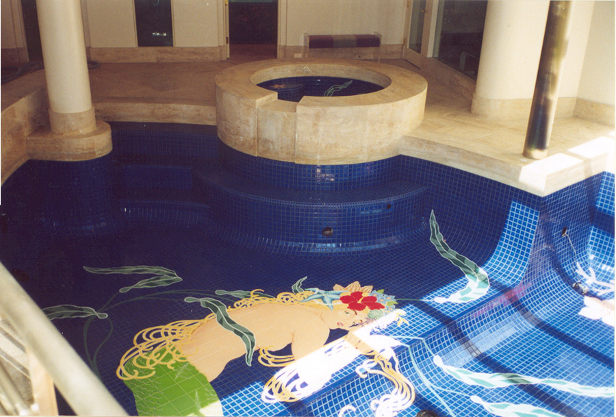 Agape Tile Custom Pool